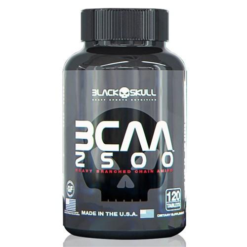 BCAA 2500 (120 Caps) - Black Skull