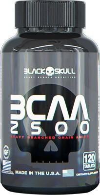 BCAA 2500 120 Caps Black Skull