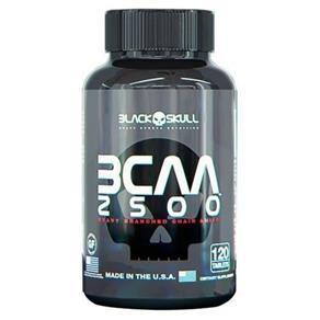 BCAA 2500 - 120 Cápsulas - Black Skull - 120 Cápsulas