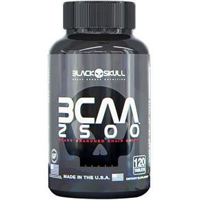 BCAA 2500 - Black Skull - 120tabs -