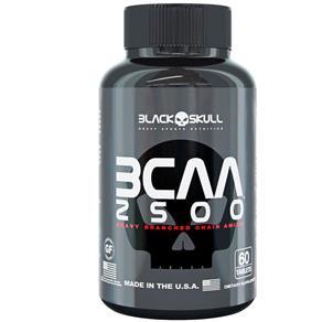 BCAA 2500 - Black Skull - 60tabs -