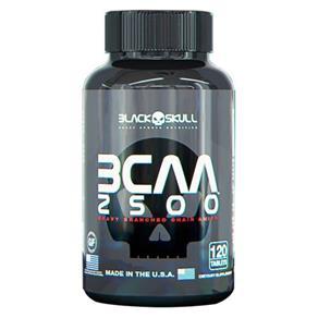 BCAA 2500 - Black Skull - SEM SABOR - 120 TABLETES