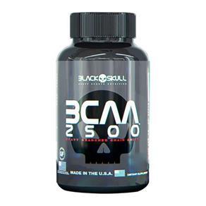 BCAA 2500 - Black Skull - SEM SABOR - 60 TABLETES