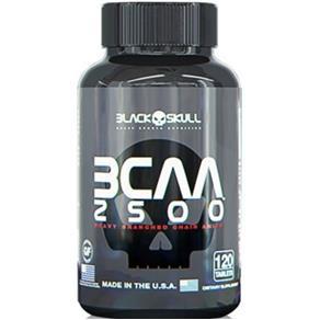 Bcaa 2500Mg - Black Skull Sem Sabor 60caps