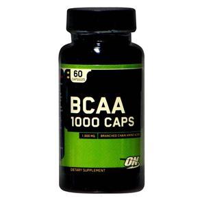 BCAA 60 Cápsulas Optimum Nutrition - 1000mg