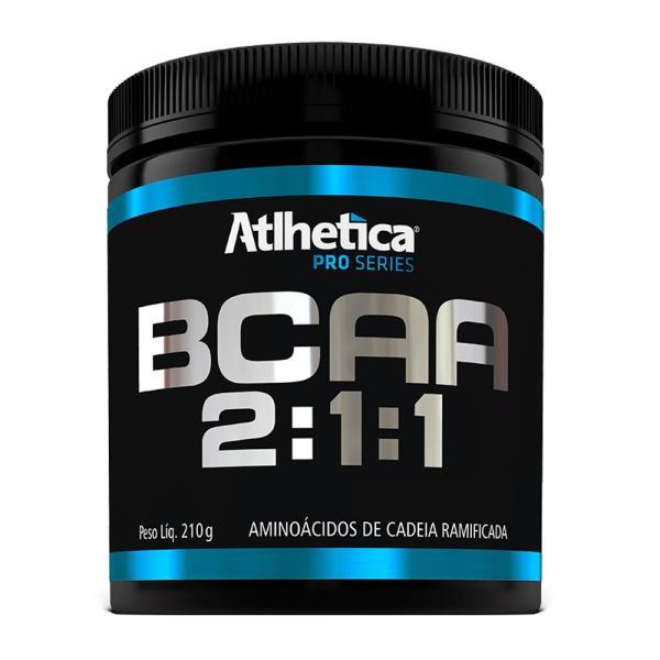 BCAA 2:1:1 Pro Series - Morango C/ Maracujá Atlhetica 210g - Atlhetica Nutrition
