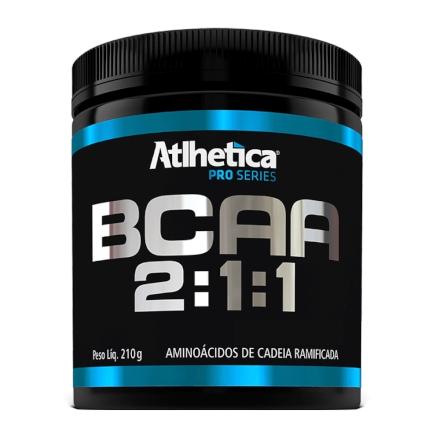 BCAA Atlhetica Pro Series 2:1:1 - Limão - 210g - Atlhetica Nutrition