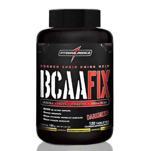 BCAA Fix Darkness 120 Tabletes - Integralmédica