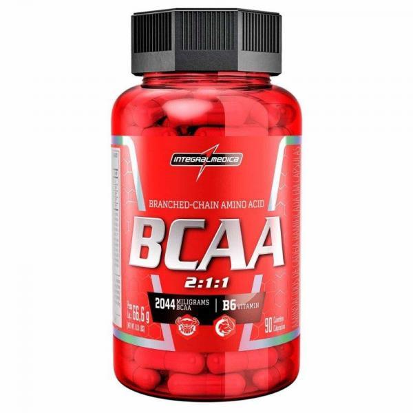 BCAA Integralmédica 2044mg com 90 Cápsulas - Integralmedica