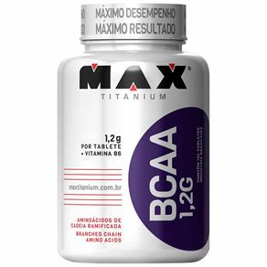 Bcaa Max Titanium - NATURAL - 120 TABLETES