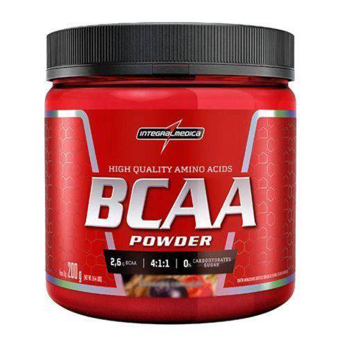 Bcaa Powder 4:1:1 - 200g Maracujá - Integralmedica