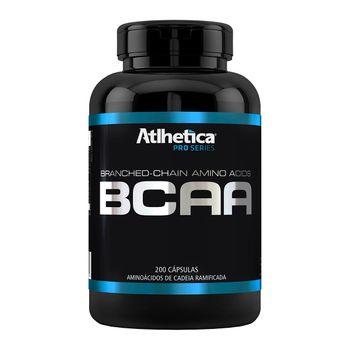 BCAA Pro Series 200 Cápsulas - Atlhetica Nutrition