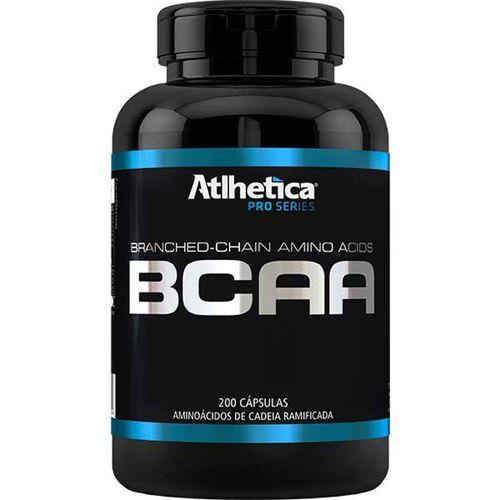 Bcaa - Pro Series - 200 Cápsulas - Atlhetica Nutrition