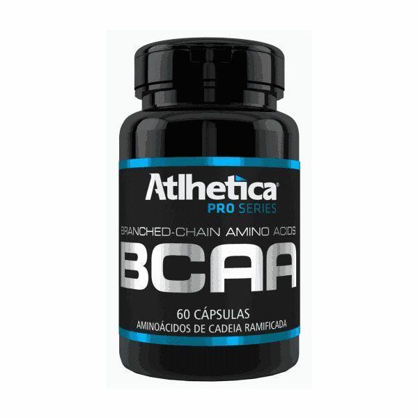 BCAA Pro Series - 60 Cápsulas - Atlhetica Nutrition