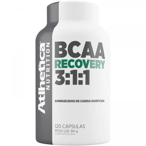 Bcaa Recovery 3.1.1 - 120 Cáps - Atlhetica Nutrition