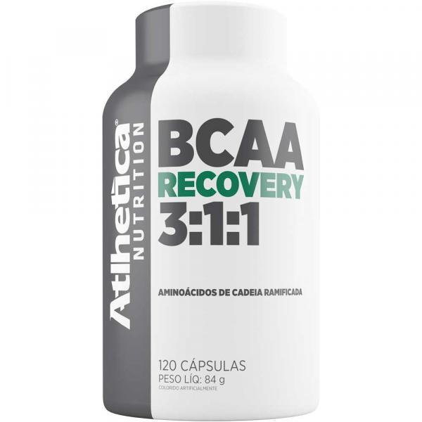 BCAA Recovery 3:1:1 120 Cápsulas - Atlhetica Nutrition