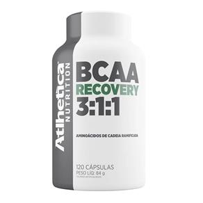 Bcaa Recovery 3:1:1 120 Capsulas Atlhetica - Sem Sabor - 120 Cápsulas