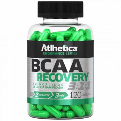 Bcaa Recovery 3:1:1 - 120 Cápsulas - Endurance Series - Atlhetica