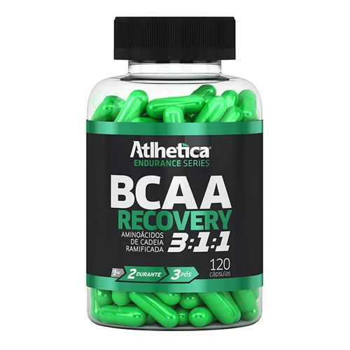 Bcaa Recovery 3:1:1 Endurance Series 120 Caps Atlhetica Nutrition