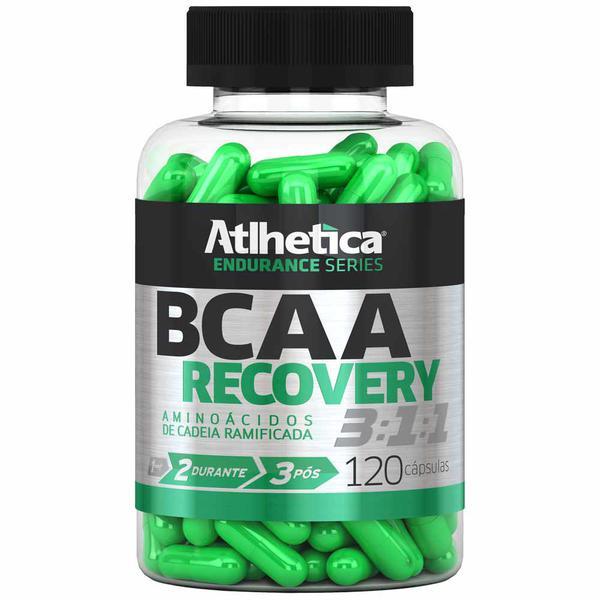 Bcaa Recovery 3:1:1 - Endurance Series - 120 Cápsulas - Atlhetica