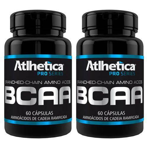 BCAA - 2 Un de 60 Cápsulas - Atlhetica