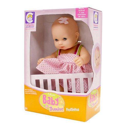 Tudo sobre 'Bebê Baby Jr Fofinha - Cotiplás 1687'