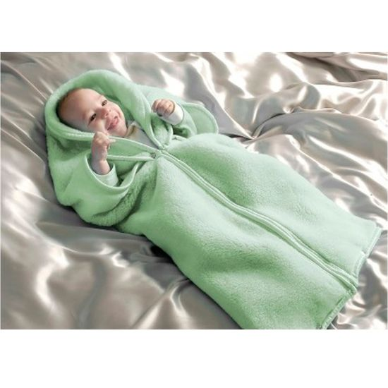 Tudo sobre 'Bebê Manta Verde Cobertor Saco de Dormir'