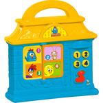 Bebê Musical Casinha Azul - Galinha Pintadinha