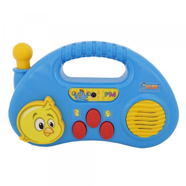 Bebê Musical Galinha Pintadinha - Rádio - Dican