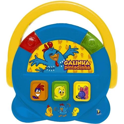 Bebê Musical Juke Box Galinha Pintadinha