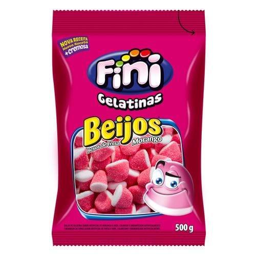 Beijos de Morango Açucarados - 500g
