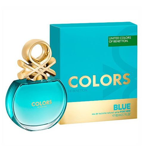 Benetton Colors Blue Eau de Toiltte Masculino 80 Ml