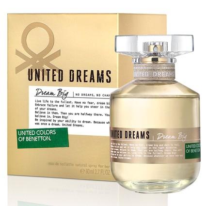 Benetton Perfume Feminino Dream Big Eau de Toilette 80ml