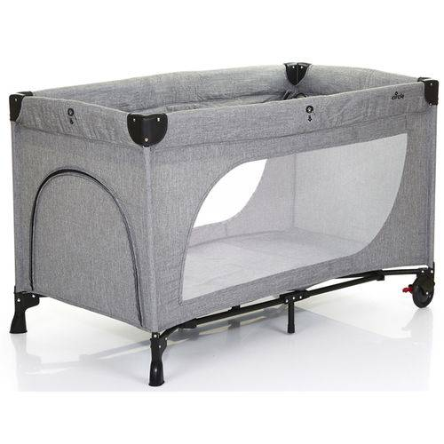 Tudo sobre 'Berço Desmontável Moonlight Set Woven Grey Abc Design'