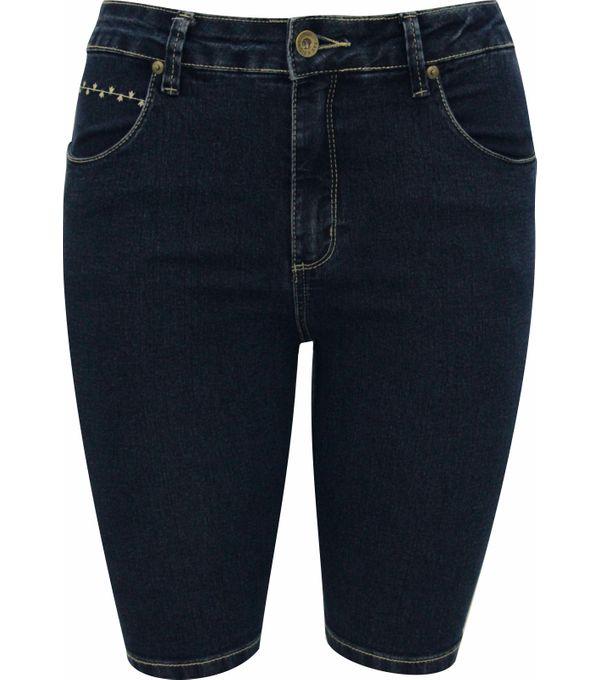 Tudo sobre 'Bermuda Pau a Pique Azul Jeans AZUL - 40'