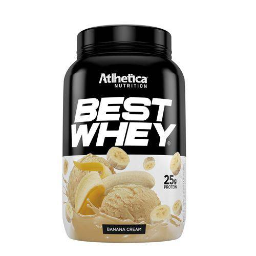 Best Whey - 900g - Atlhetica - Banana Cream