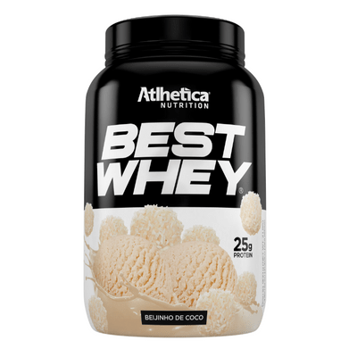 Best Whey 900g - Atlhetica Nutrition Best Whey 900g Beijinho de Coco - Atlhetica Nutrition