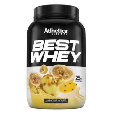 Best Whey 900g - Atlhetica Nutrition Best Whey 900g Mousse de Maracujá - Atlhetica Nutrition