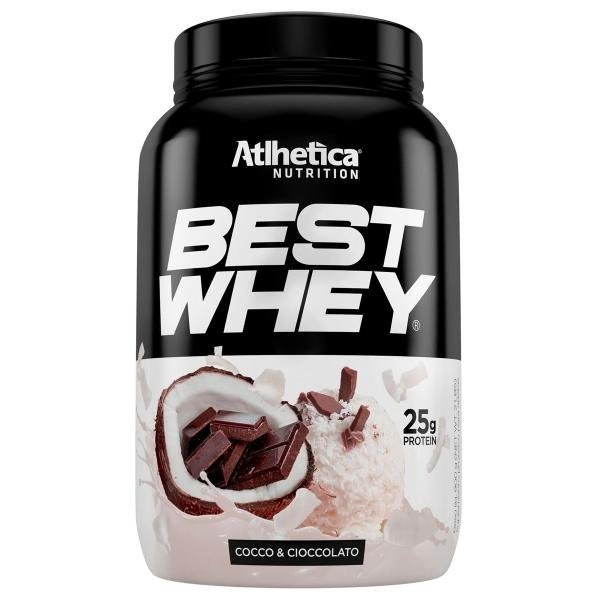 BEST WHEY - 900g - Atlhetica Nutrition