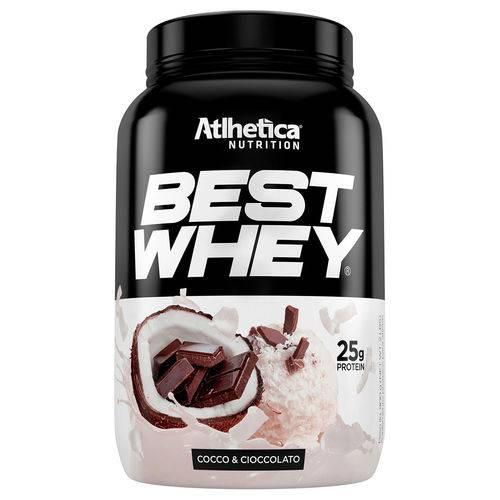Best Whey 900g Coco e Chocolate - Atlhetica Nutrition