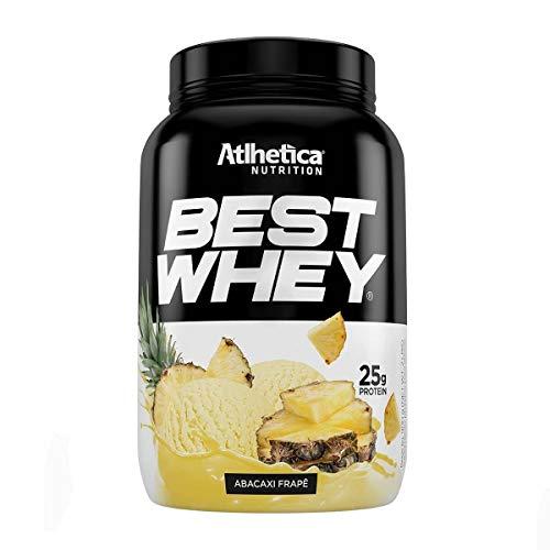 Best Whey, Atlhetica Nutrition, Frapê de Abacaxi, 900g