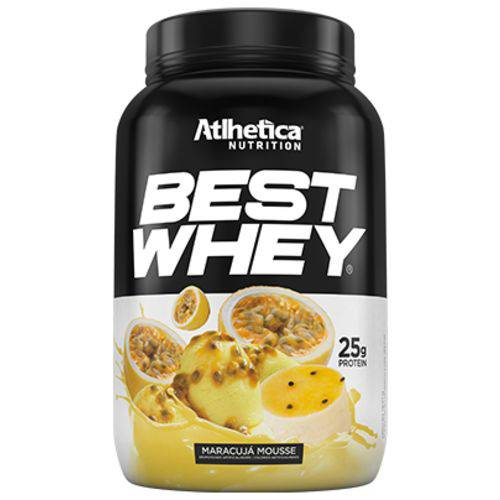 Best Whey Mousse Maracuja 900g - Athlética