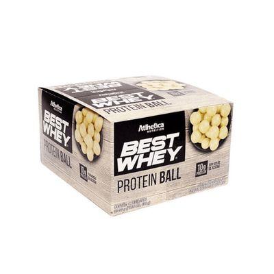 Best Whey Protein Ball Caixa 12x50g Atlhetica Nutrition Best Whey Protein Ball Caixa 12x50g Chocolate Branco Atlhetica Nutrition