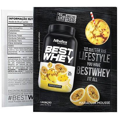 Best Whey Sachê 40g - Atlhetica Nutrition