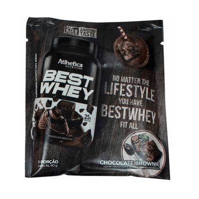 Best Whey Sachê - Atlhetica Nutrition Best Whey Sachê 40g Chocolate Brownie - Atlhetica Nutrition