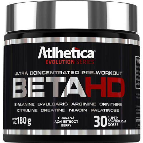 Tudo sobre 'Betahd Ultra Concentrated Pre-workout 180g'