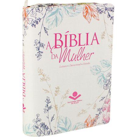 Tudo sobre 'Bíblia da Mulher RA Média Zíper Florida'