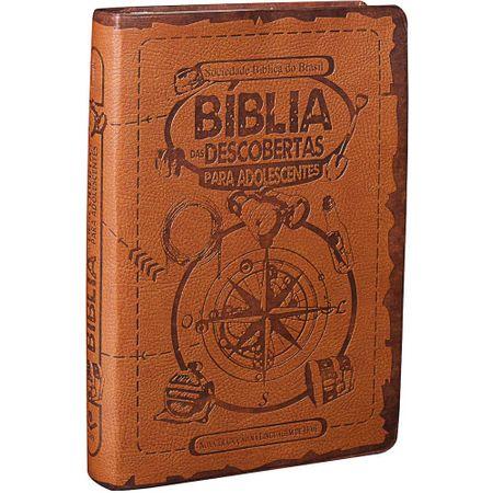 Tudo sobre 'Bíblia das Descobertas para Adolescentes Marrom'