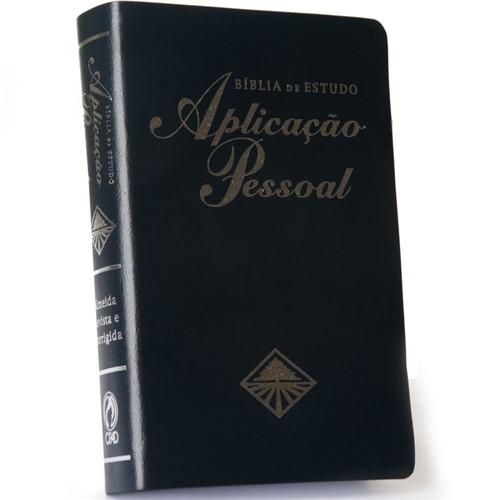 Bíblia de Estudo Aplicação Pessoal Média Azul