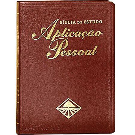 Bíblia de Estudo Aplicação Pessoal Vinho